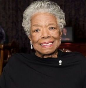 Maya Angelou is 85