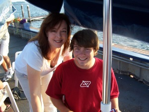 Me with my lovely dear son... a few years ago.