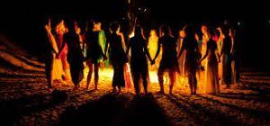 Brandy's fire ceremony