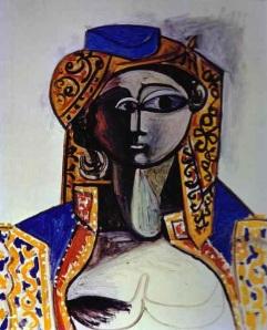 Jacqueline Rocque by Picasso, 1954