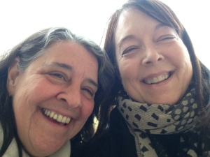 Anne and me in 2014, enjoying an afternoon visiting a couple wineries!