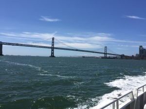 Ferry ride view.
