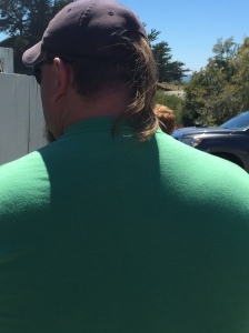 Mullet alive and well. 2016, somewhere on Rt. 1.