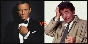 Bond vs. Columbo