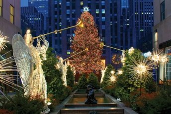 This is something I love. New York at Christmas.